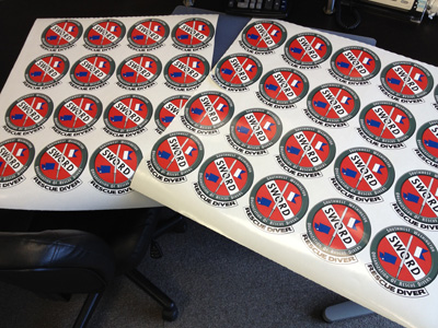 Stickers Wide Format Printing Vancouver WA