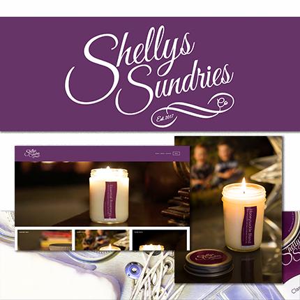 Shellys Sundries - Squarespace web - Oregon