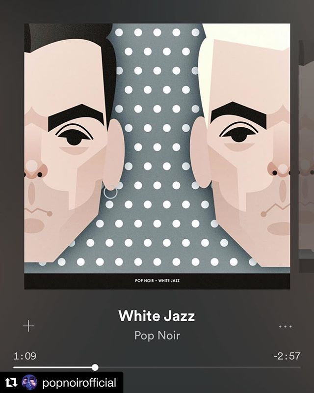 #FEEDBACKFEST2018 artists @PopNoirOfficial have a new single out! #whitejazz