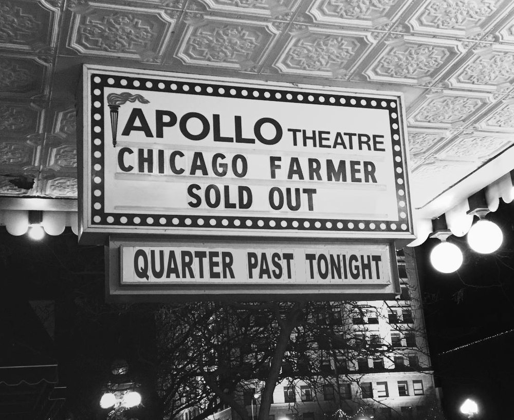 Live Album | Chicago Farmer | Quarter Past Tonight at the Apollo.jpg