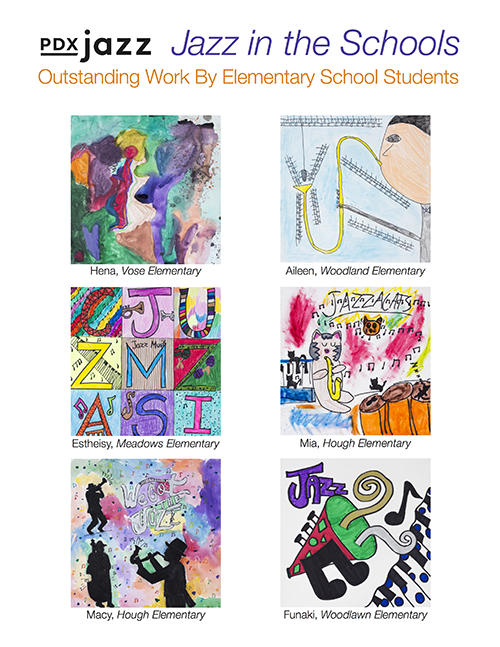 2018 Jazz in the Schools Outstanding Work by Elementary School Students