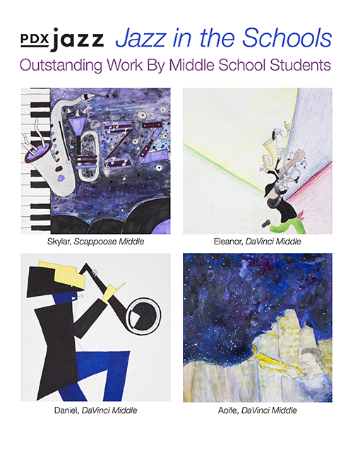 2018 Jazz in the Schools Outstanding Work by Middle School Students