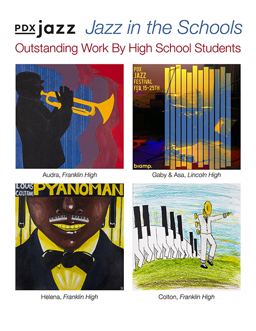 2018 Jazz in the Schools Outstanding Work by High School Students