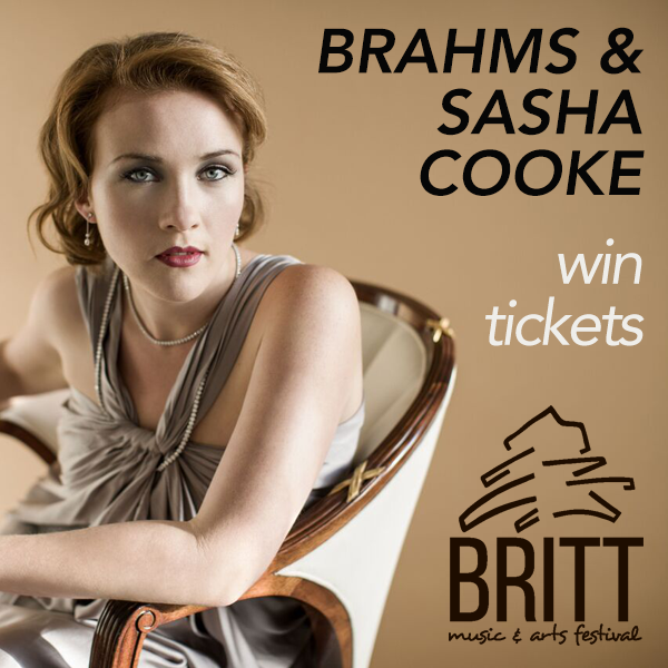 Britt Music & Arts Festival Presents: Brahms & Sasha Cooke