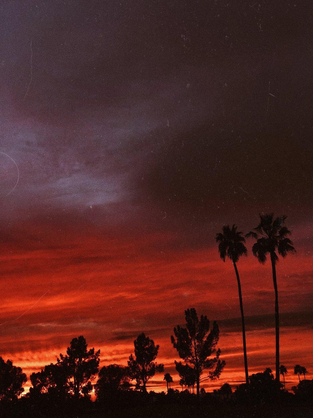 chasing denisse arizona sunset