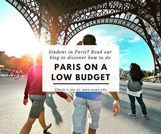 Living in Paris may be expensive as a student...but not if you know where to go! Check out our new blog about how to enjoy Paris on a low budget to discover all of the secrets this beautiful city has to offer for those with tight wallets 😉💸🕵️‍♀️ #essec #paris #student #tightbudget #studentlife #explore #paris🇫🇷 #studentsabroad #studentproblems #lifehacks