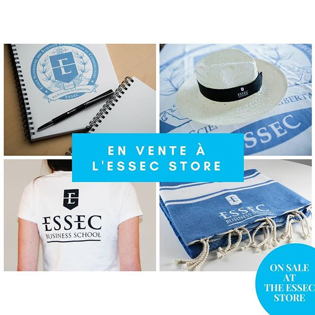 Discover our new ESSEC branded products store on our Paris - La Défense campus #ESSECStore #Execed #Bschool #Highered