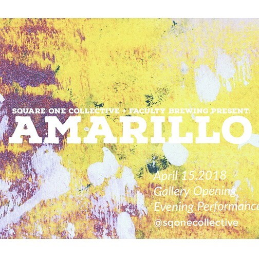 "OK friends, today is the day! ""Amarillo"" is officially underway at @facultybrewing and we are waiting to see YOU 🎉 Our evening performance is officially SOLD OUT but, if you find yourself without a ticket, don't let that stop you from coming down to hang with us all day, from 12-7, as admission is free - grab a drink, checkout the art, and chat with us ⭐️ . . . . . #art #artist #artistoninstagram #instaart #wip #workinprogress #event #exhibition #vancity #vancityevents #sqonecollective #vancouver #facultybrewing #amarillo2018 #madeinyvr #dailyhiveyvr"