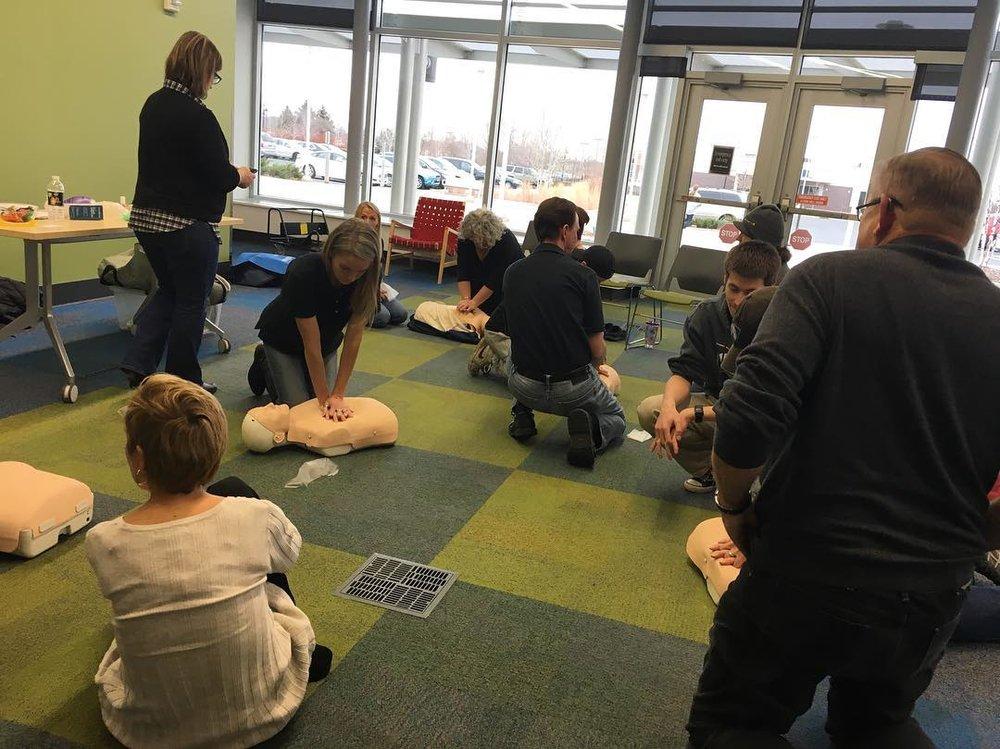 CPR Training Event