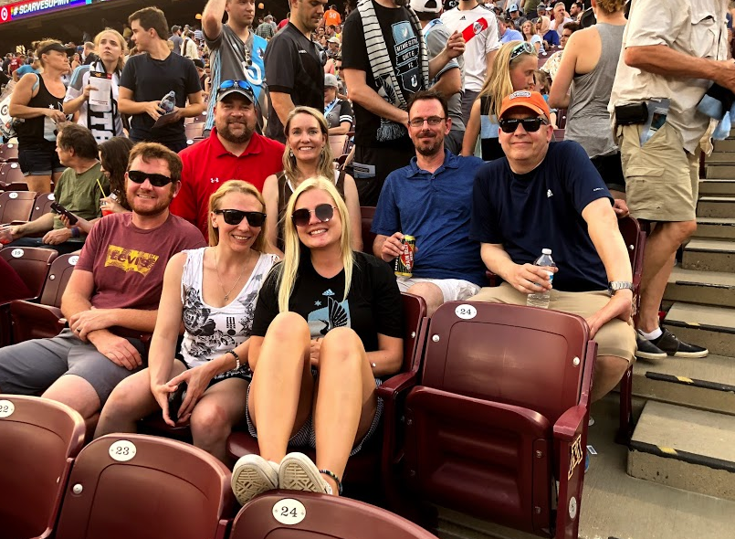 Office Outing to the MN United Game!