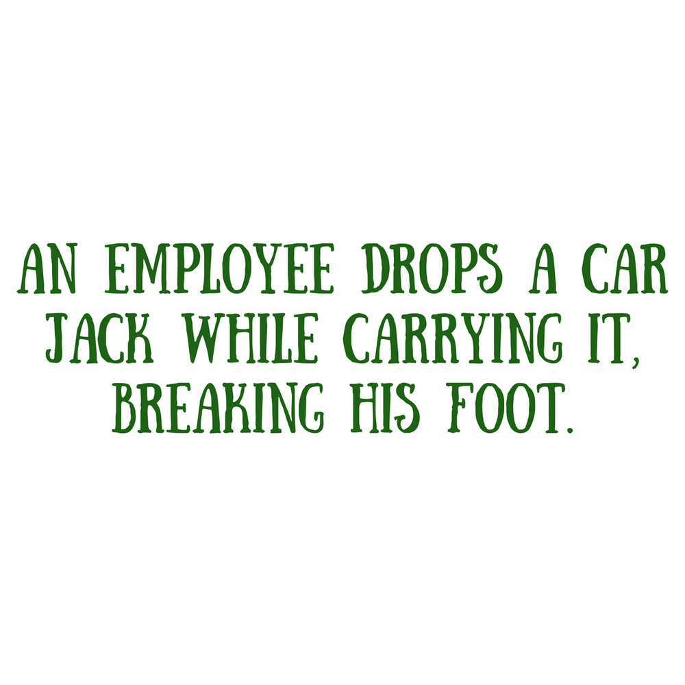 An employee slips on ice, injures himself while walking up the stairs to the office, and requires an emergency room visit and weeks of recovery time. (3).jpg
