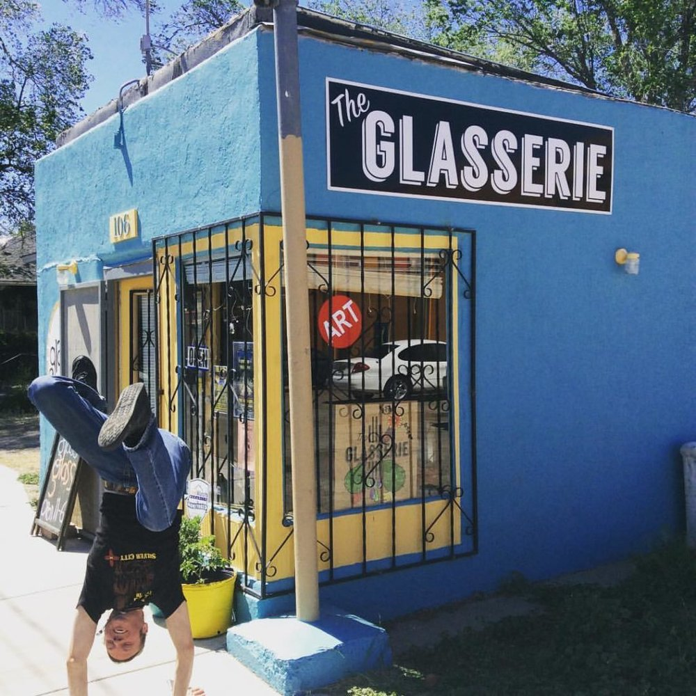 106 E College Ave Silver City, New Mexico (575) 590-0044  theglasserienm@gmail.com