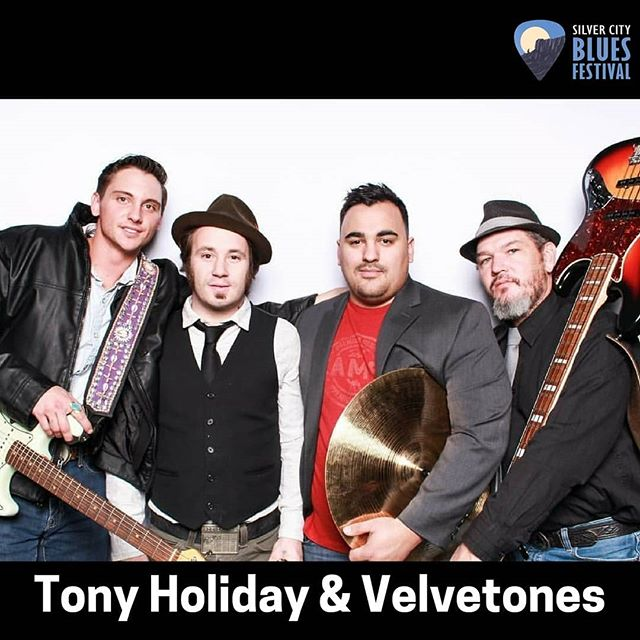 TONY HOLIDAY & THE VELVETONES     SUNDAY MAY 27