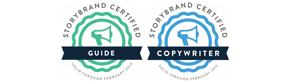 Storybrand guide and copywriter