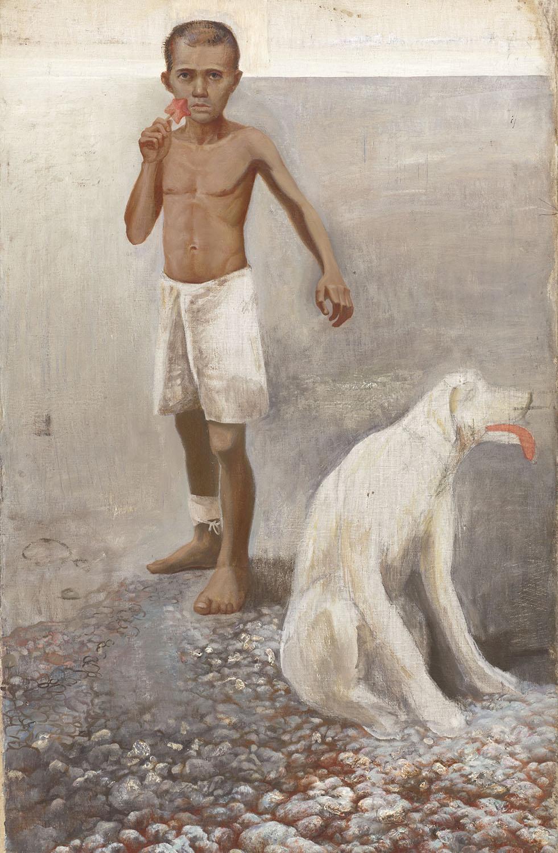 Владимир Дубосарский  Мальчик с собакой