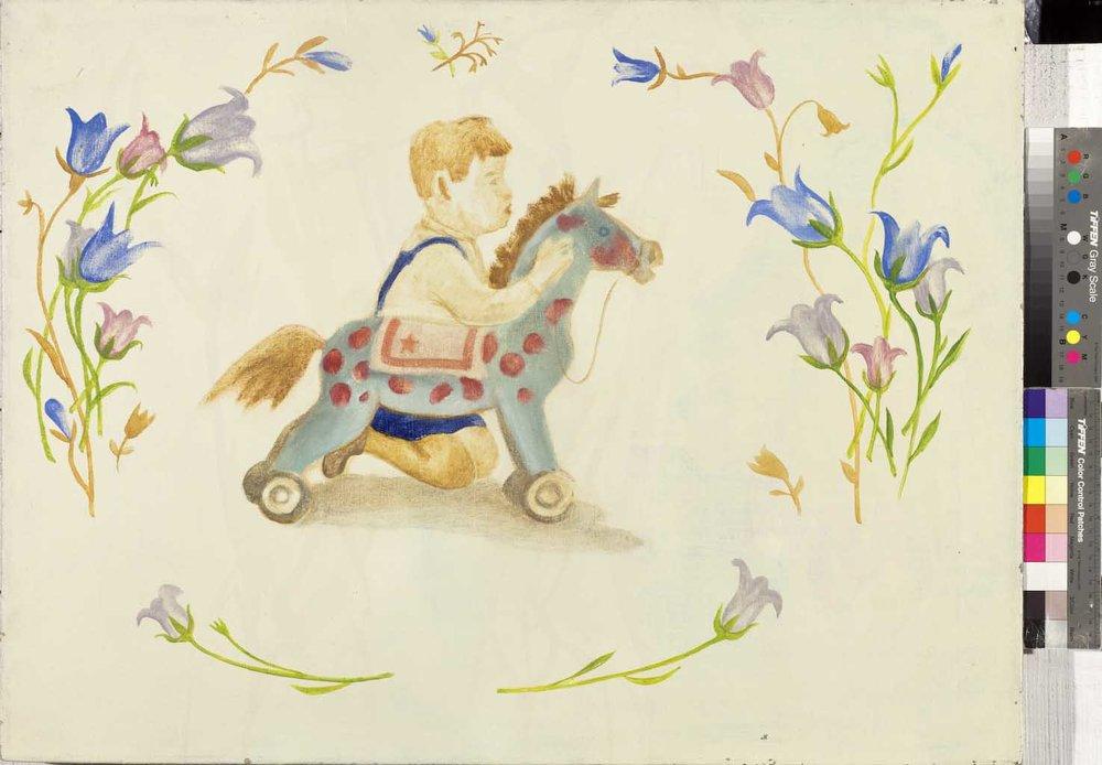 Владимир Дубосарский  Мальчик с лошадкой