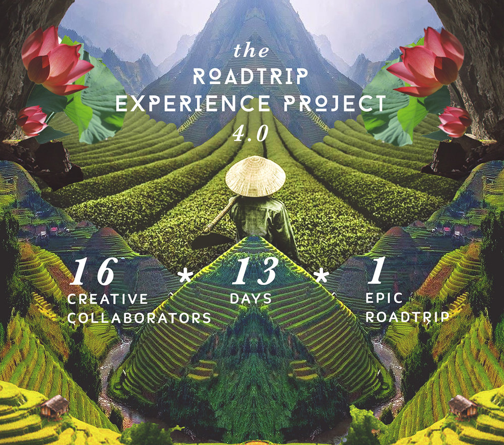 The RoadTrip Experience 4.0  - The visual language developed for the promotional campaign of the collaborative road trip through Vietnam. Client: The RoadTrip Experience Project, BangaloreMore Details ➝