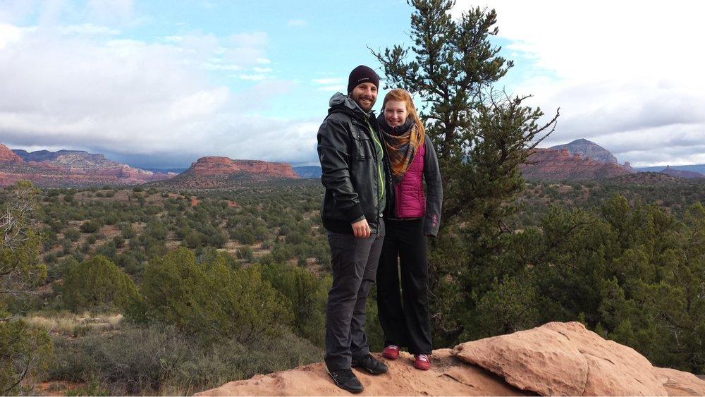 Exploring Sedona, AZ over Thanksgiving 2016.