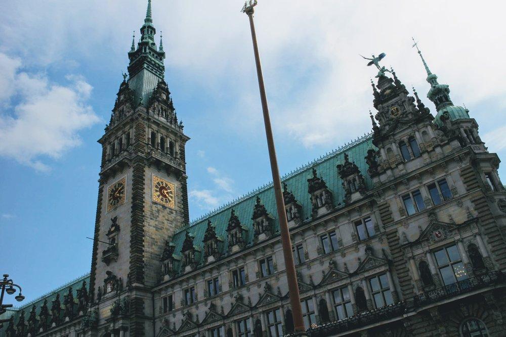 Town Hall, Hamburg