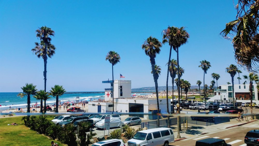 View from OB Wonderland Pub - always makes me appreciate my expat life here on the west coast.
