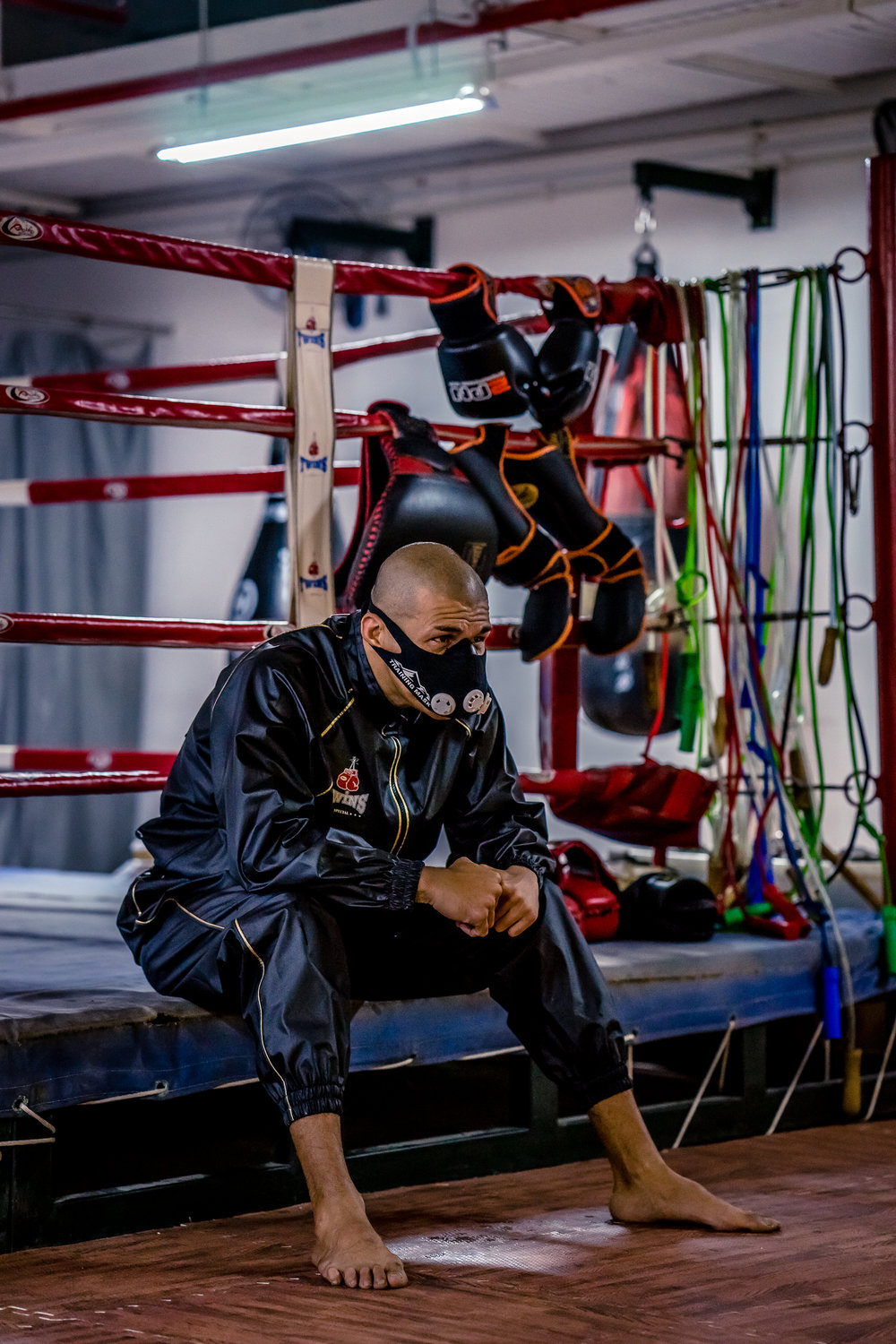 Coach Andre from Strike Combat Muay Thai Gym