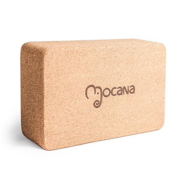 Mocana Cork Yoga Block - R350.00 - Made of 100% Eco-friendly cork, the Mocana Yoga Block is a great help in improving your stretches.it isGood on your joints, great for your practise, you won't regret giving this yoga block the green light.