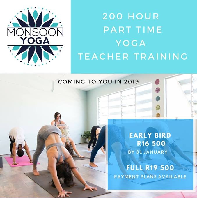 Hosted by Monsoon Yoga - Cost: R19 500