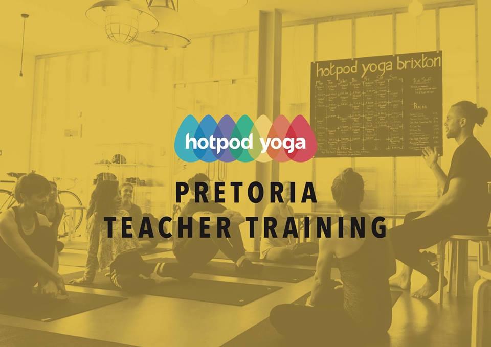 Hosted by Hotpod Yoga Pretoria - Cost: R23 000
