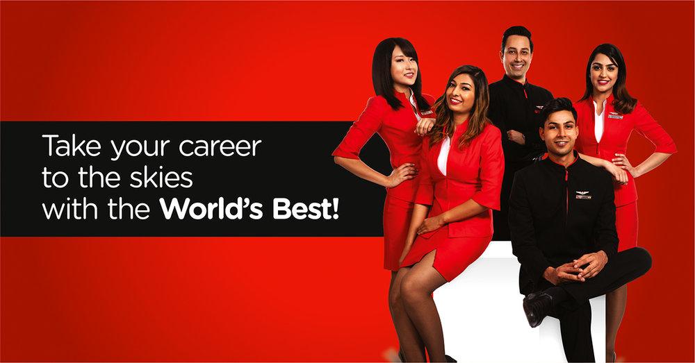 airasia india announces recruitment drive for cabin crew — airasia