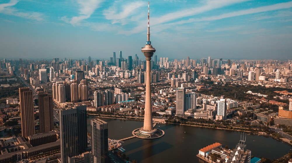 Standing at over 415 metres tall, Tianjin Radio and Television Tower is an iconic landmark located at the heart of Tianjin city centre that offers 360 degree panorama view at its observation deck.