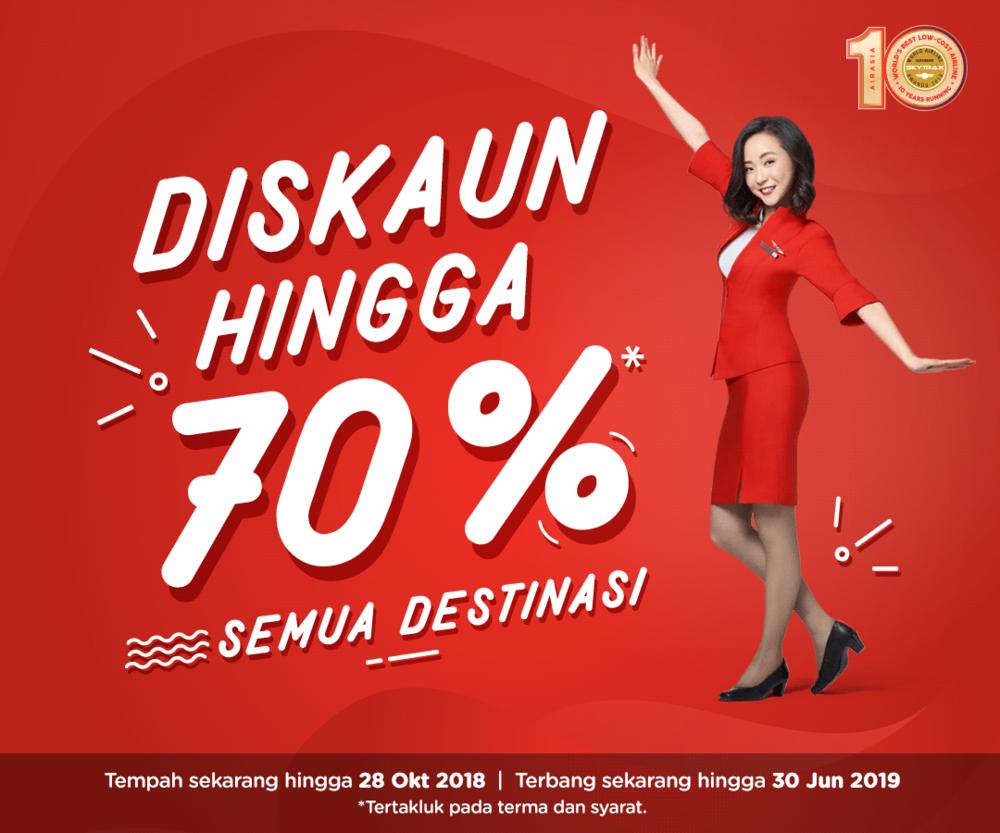Tawaran diskaun sehingga 70 peratus untuk semua destinasi AirAsia.png