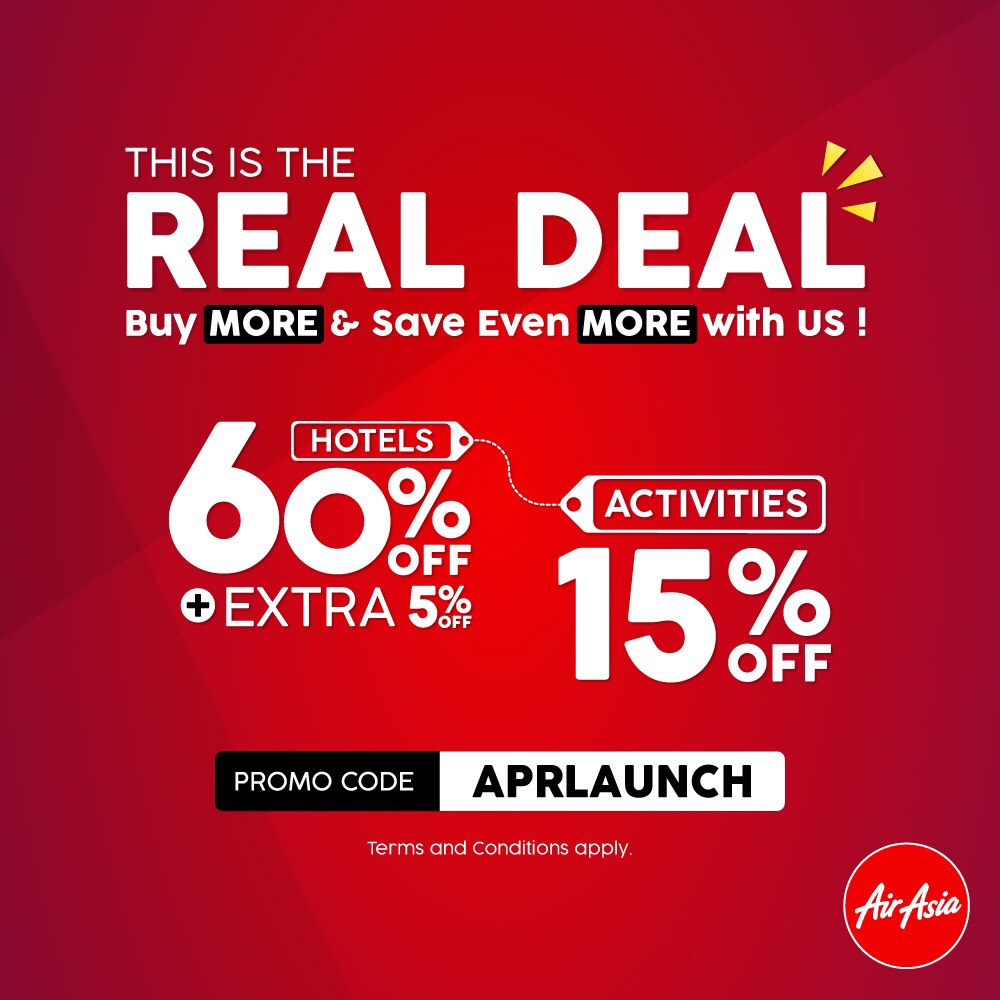 Go Beyond Just Flights And Book Your Next Travel And Lifestyle Deal At Airasia Com Airasia Newsroom