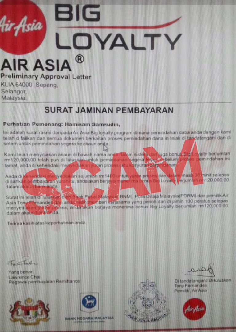 AirAsia Big Loyalty Bonus Scam.jpeg