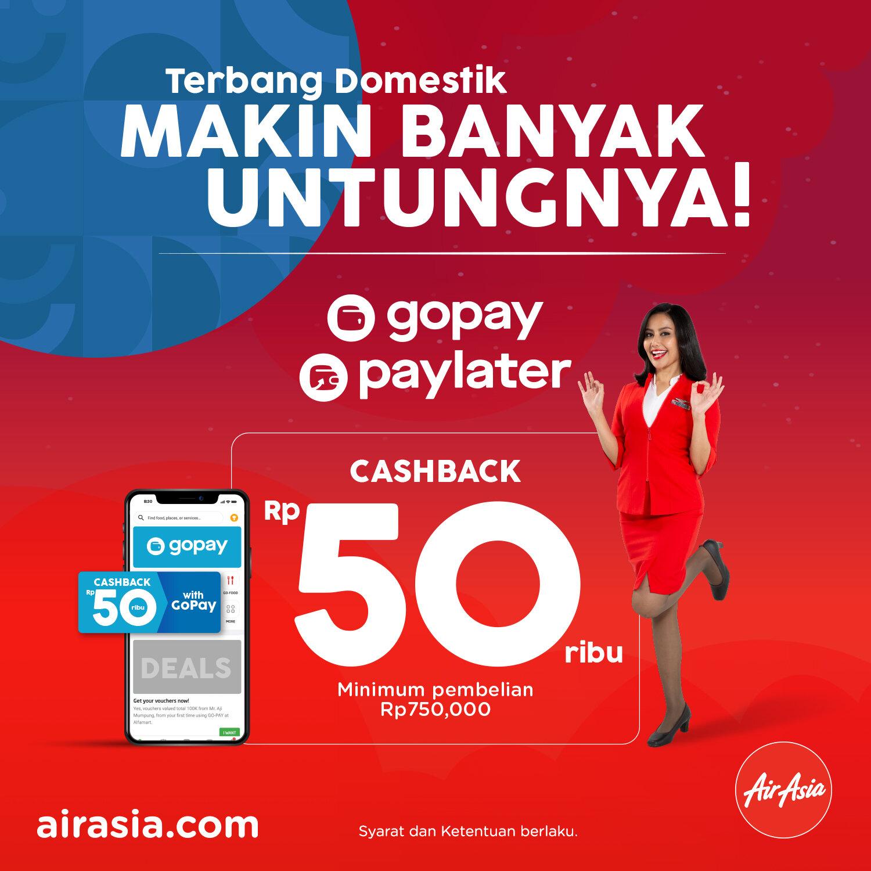 Terbang Makin Hemat Bersama Airasia Dengan Cashback Gopay Airasia Newsroom