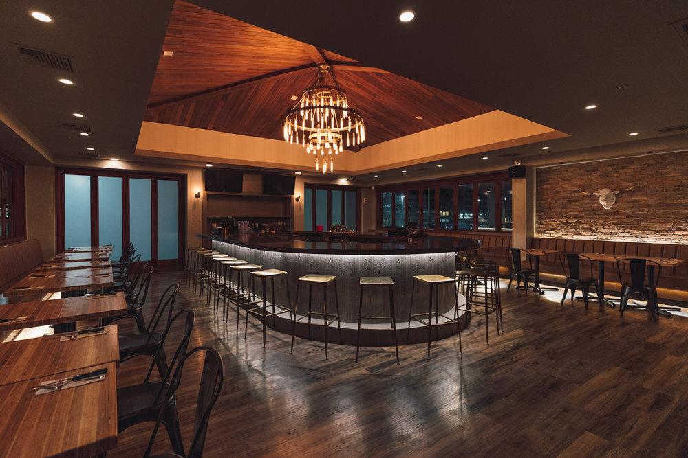 Upper Level Dining & Bar