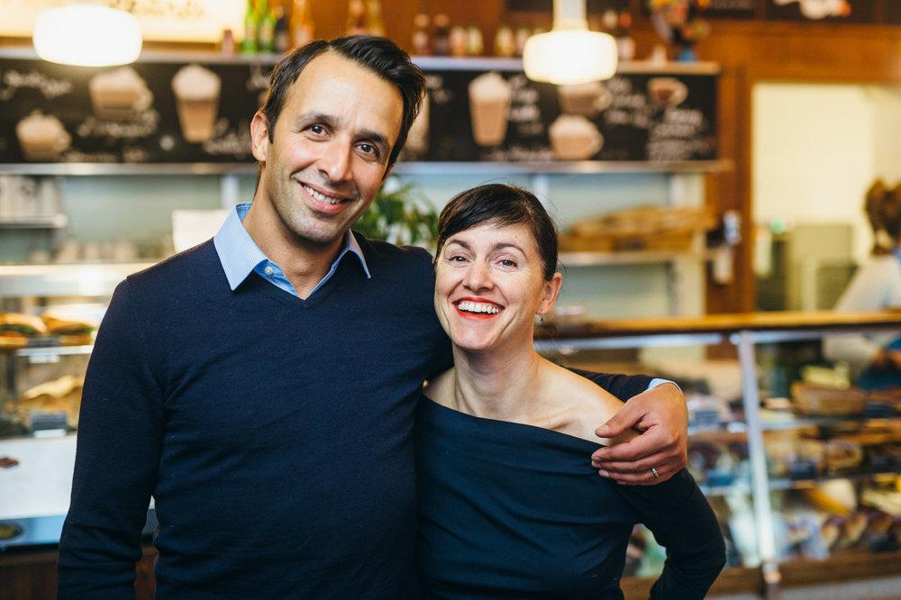 George Andreadis &Paula Gouveia (Gründer)