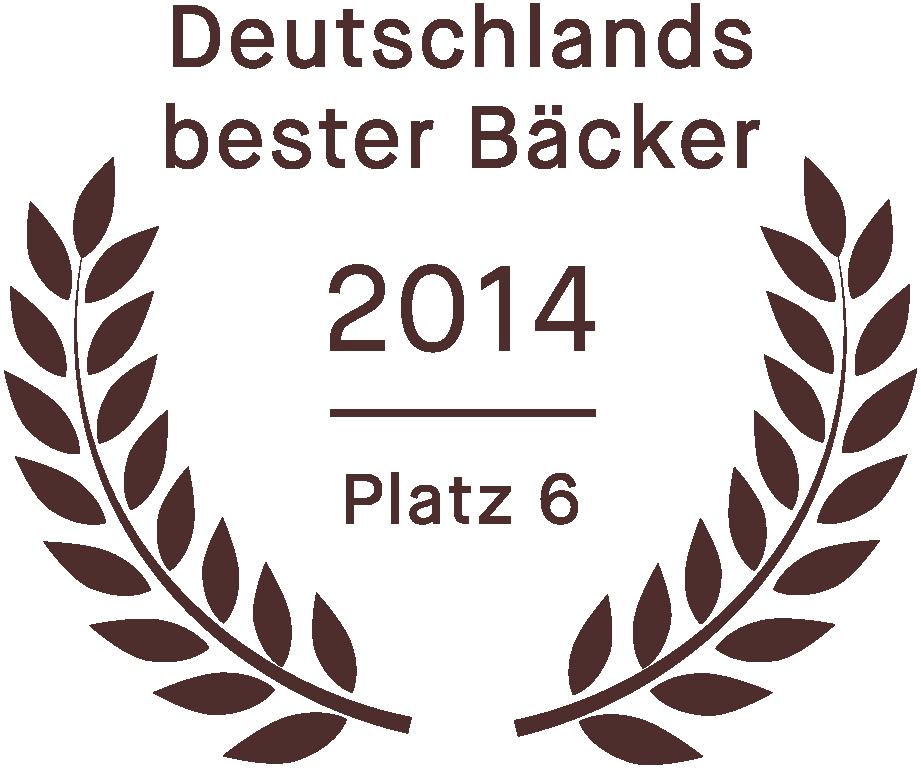 Bester Bäcker Ostdeutschlands: die Bekarei holte den Titel   Bester Bäcker Ostdeutschlands  in der ZDF-Sendung  Deutschlands bester Bäcker und erreichte in der Gesamtwertung den 6. Platz unter 72 Teams aus ganz Deutschland.