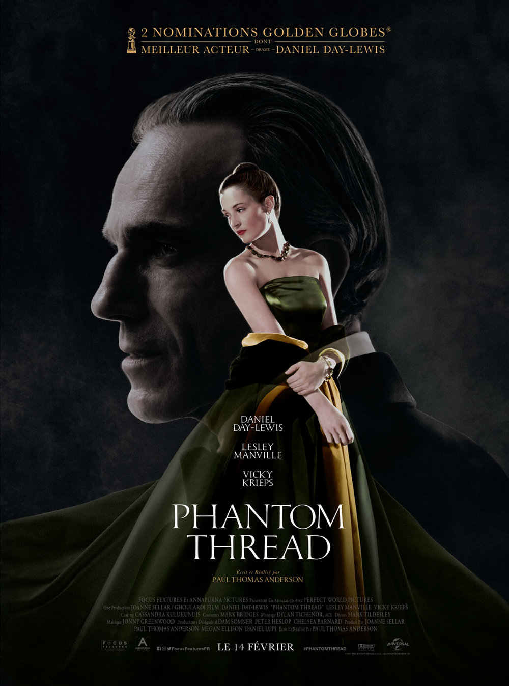 Phantom thread (2018) - de Paul Thomas Anderson