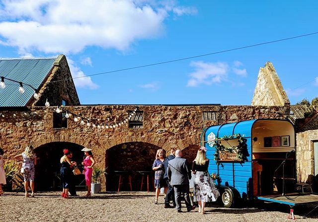 Blue skies at @thecowshedcrail  We can't wait for more sunny days at this beaut venue ☀️