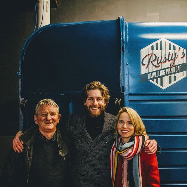 2 years ago TODAY with help from our pals @kabecomms we launched Rusty's Travelling Piano Bar! @stv.news & @jennifer_reoch came to see us before an epic night of music and drinks at The Glue Factory ( @eventfulspaces )  What an amazing 2 years it has been!  Year no. 3 / 2019 Event Season, we are ready for you! 🎹🎶👨🎤🎸 . . . #pianobar #horseboxbar #weddingmusic #drinksreceptionmusic #ceremonymusic #cocktailreception #weddingplanning #eventplanner #weddingplanner #piano #barhire #scottishwedding #rustic #rusticwedding #entertainment #entertainer #ricehorsebox #rustyspianobar #mobilebar #travellingpianobar #wearetheweddingcollective #theweddingcollective #festivalmusic #corporateentertainment #eventideas