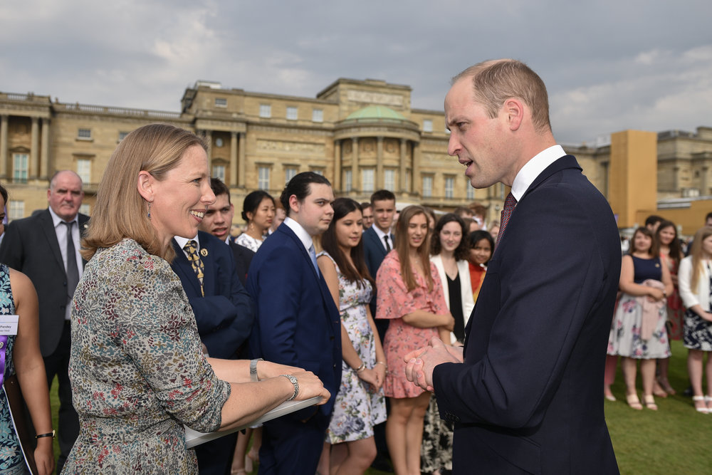 Gold Awards presentation at Buckingham Palace, May 2018