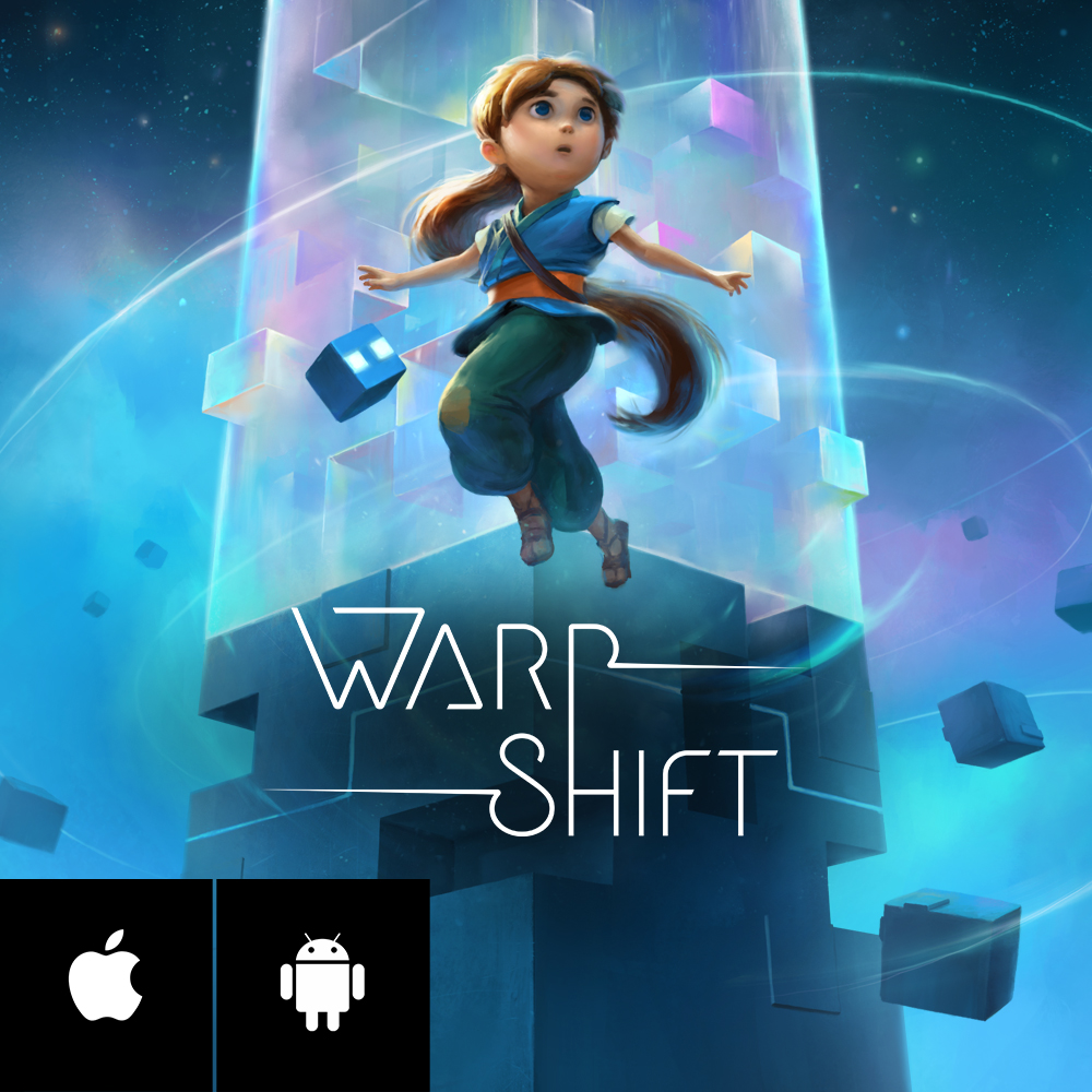 WARP SHIFT - Warp Shift is a unique puzzle game set in a mysterious world. AppSpy says that it
