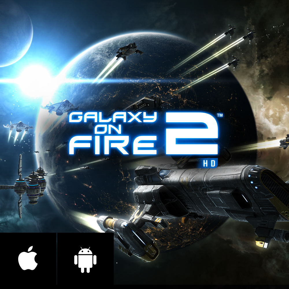 GALAXY ON FIRE 2 HD - Galaxy on Fire 2 HD is a pioneering 3D space combat and trading simulation with adventure and RPG elements in which you save the galaxy from devious alien raiders and ruthless space pirates!