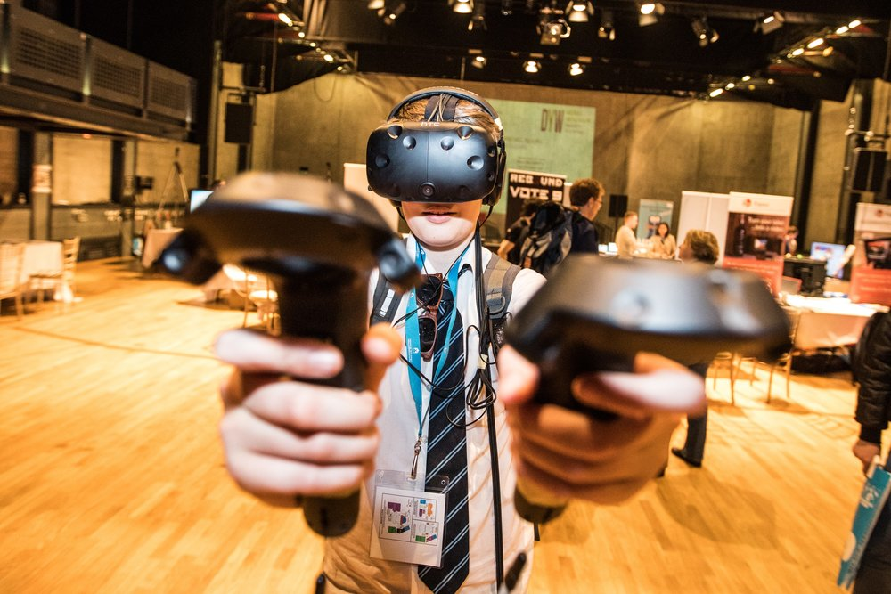 _Technology & Gaming Playground--XPO North 2017.--Scotland's Leading Creative Industries Festival. --7-8 June 2017, Inverness.--Picture- Paul Campbell-XPO North.jpg