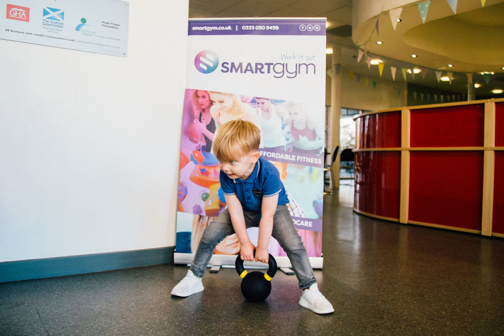 Smart Gym - Genuine explored 'Old Fashioned Marketing' including straight forward placement and cut through in UK and regional titles for the pilot Smart Gym.