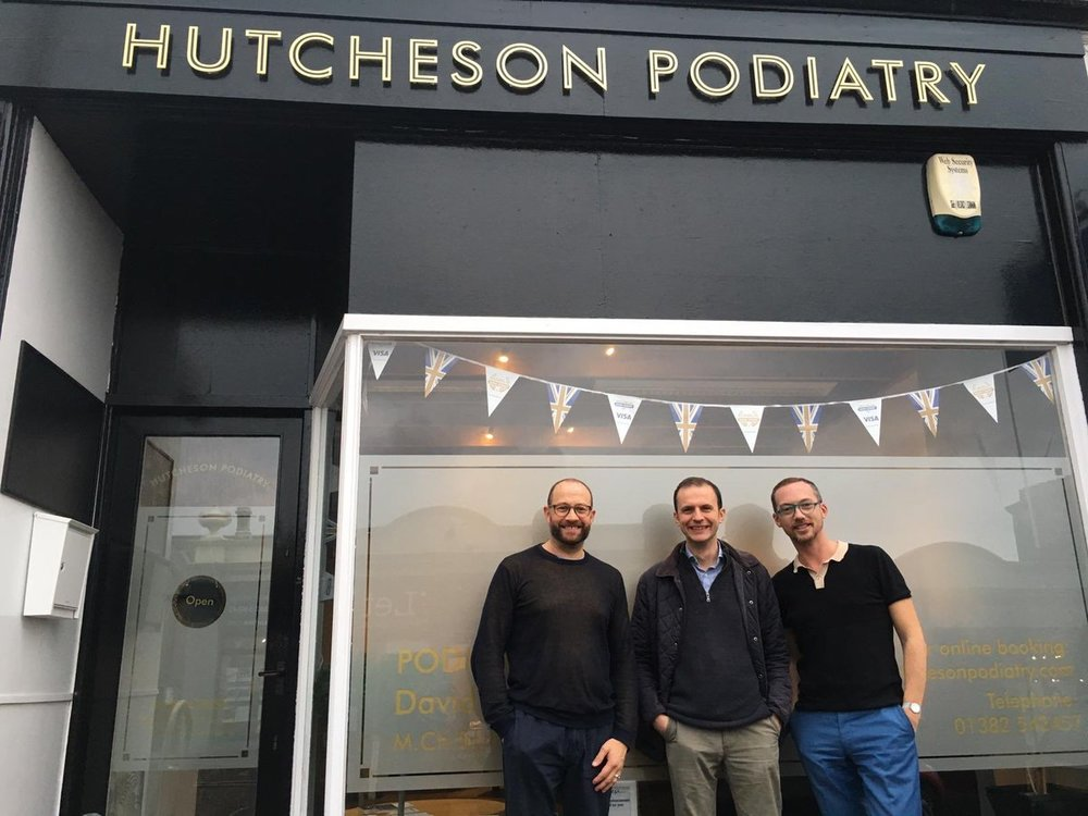 Hutcheson Podiatry - Complete website design plus social, marketing and advertising strategy.