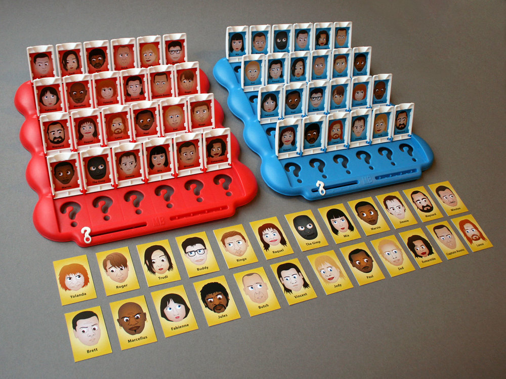 Pulp Fiction Guess Who
