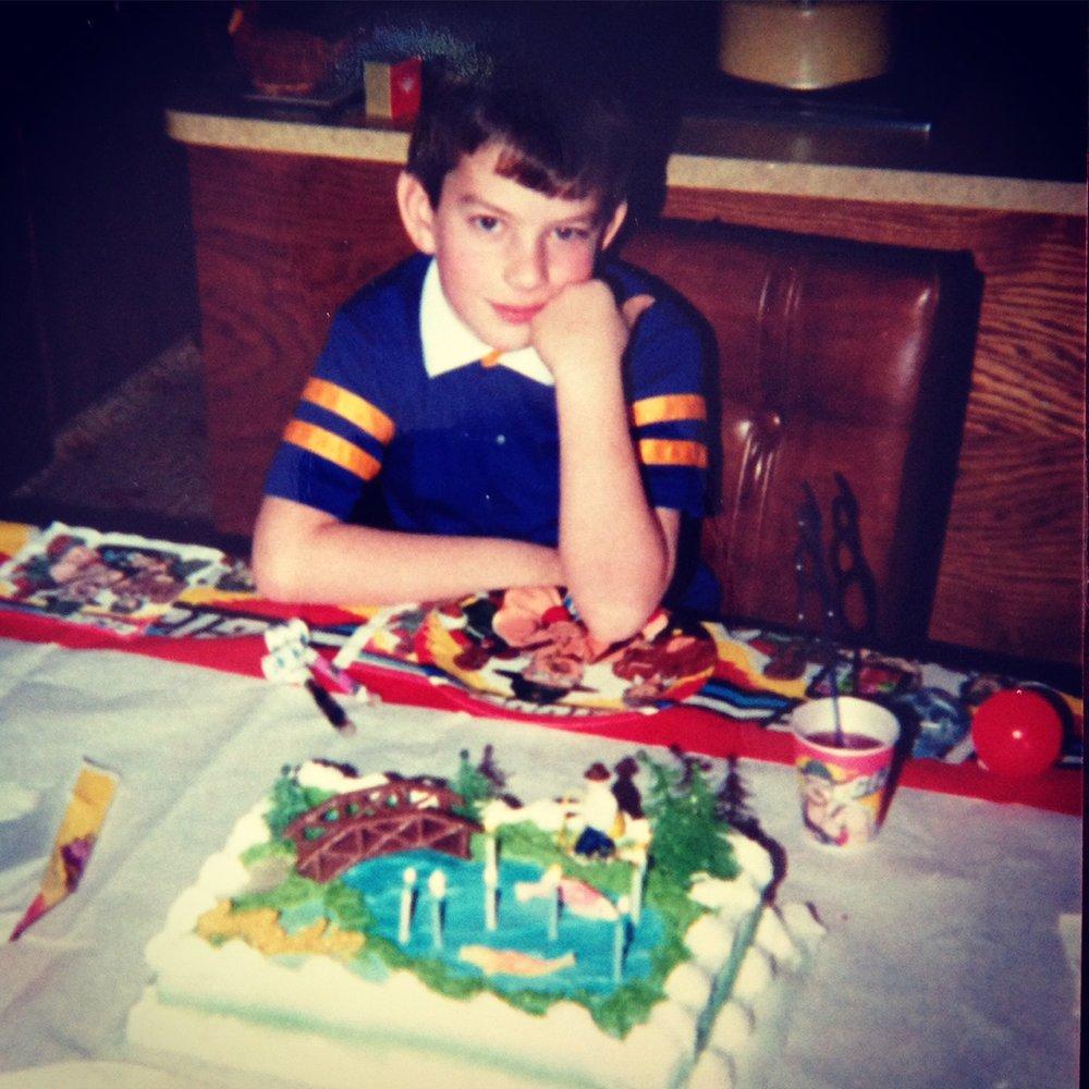Me, circa 1987.
