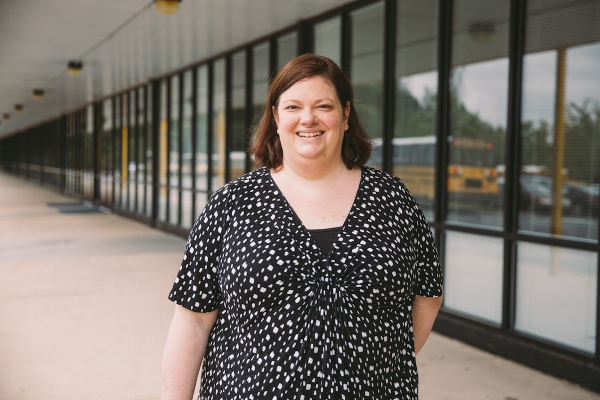 Jamie Sumter, a curriculum specialist at Sugar Creek Charter School, will become the principal at the new Movement School.  Photo by Noah Turley.