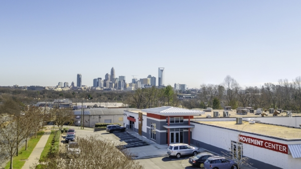 Charlotte's low-income westside sits on the outskirts of the city's prosperous uptown, where office towers and high-rises dominate the skyline.